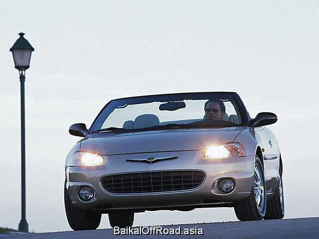 Chrysler Sebring Convertible 2.4 i 16V (152Hp) (Вариатор)