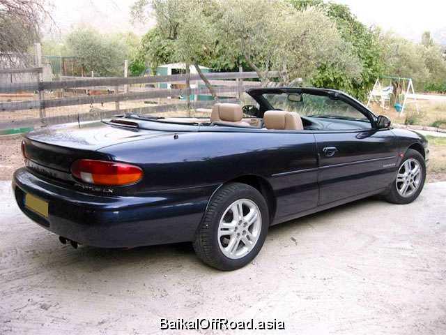 Chrysler Stratus Cabrio 2.5 V6 (163Hp) (Автомат)