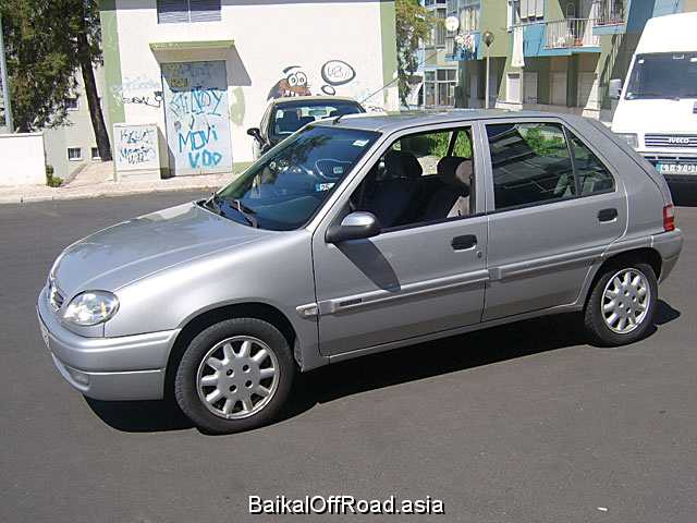 Citroen Saxo 1.5 D (57Hp) (Механика)