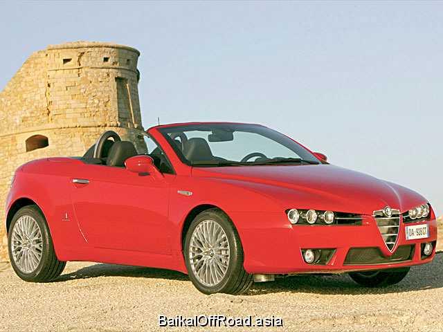 Alfa Romeo Spider 3.2 V6 JTS (260Hp) (Механика)