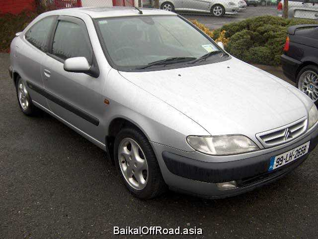 Citroen Xsara Coupe 1.8 i (90Hp) (Механика)