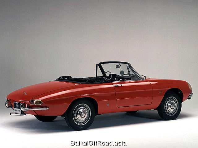 Alfa Romeo Spider 1600 (103Hp) (Механика)