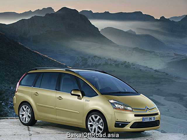 Citroen C4 Grand Picasso 1.8 (127Hp) (Механика)