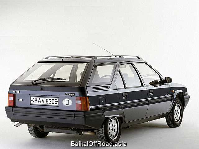 Citroen BX Break 1.6 (80Hp) (Механика)
