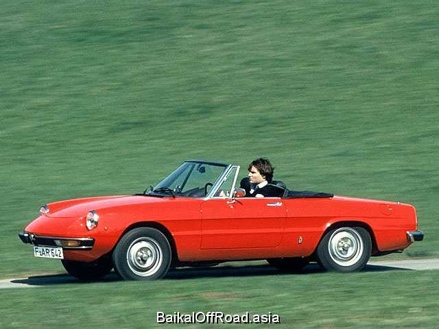 Alfa Romeo Spider 2000 (126Hp) (Механика)