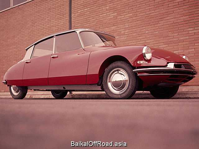 Citroen DS 21 (120Hp) (Механика)