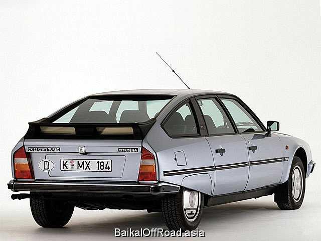 Citroen CX 2.5 D Turbo (106Hp) (Механика)