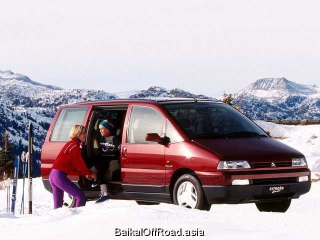 Citroen Evasion (facelift) 1.8 (99Hp) (Механика)