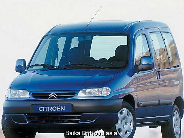 Citroen Berlingo 1.6 i 16V (108Hp) (Механика)