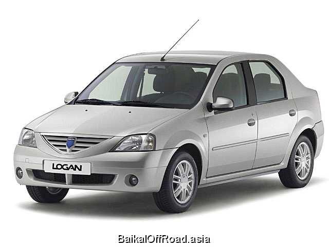 Dacia Logan 1.6 i (87Hp) (Механика)