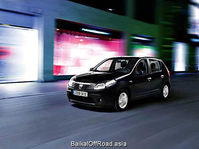 Dacia Sandero 1.6 8V MT (92Hp) (Механика)