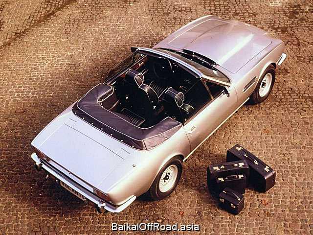 Aston Martin V8 Volante 5.3 (375Hp) (Механика)