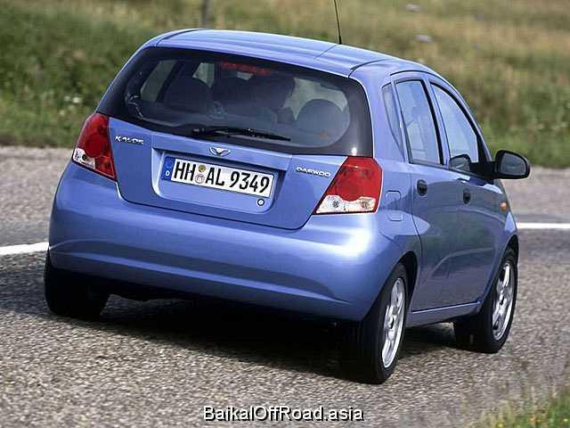 Daewoo Kalos Sedan 1.2 i (72Hp) (Механика)
