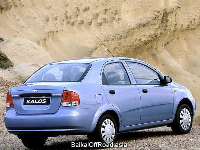Daewoo Kalos Sedan 1.4 i 16V (94Hp) (Автомат)