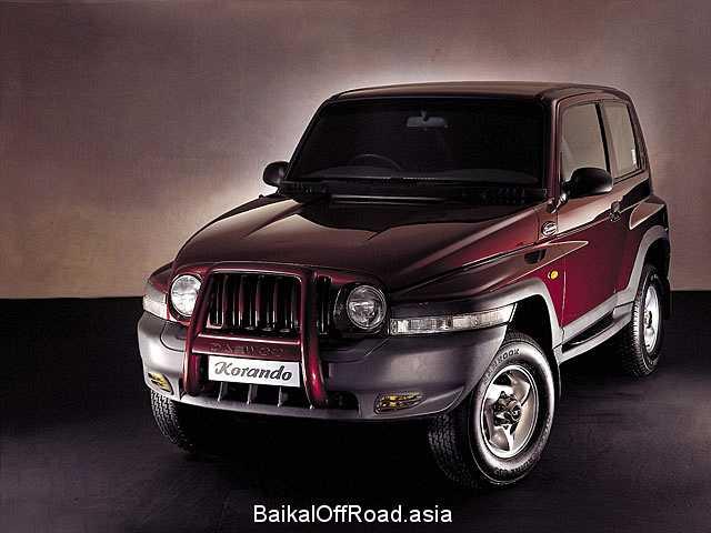 Daewoo Korando Cabrio 2.0 16V (128Hp) (Механика)
