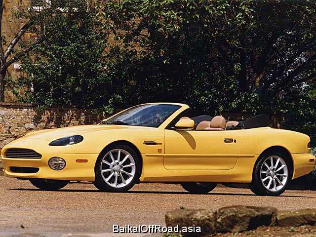 Aston Martin DB7 Volante 5.9 i V12 48V (420Hp) (Автомат)