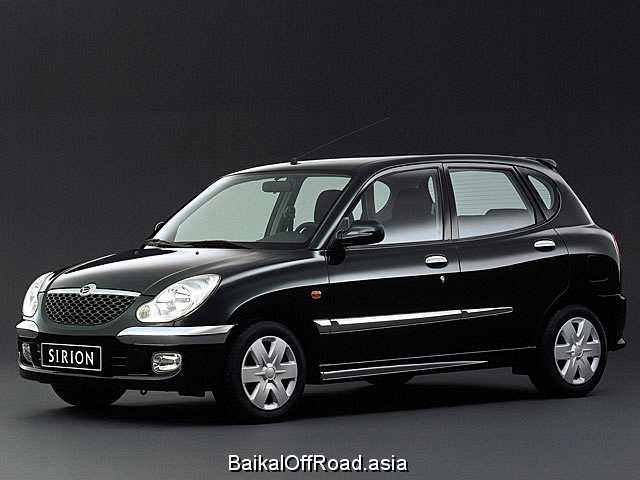 Daihatsu Sirion 1.3 i 16V 4WD (102Hp) (Механика)