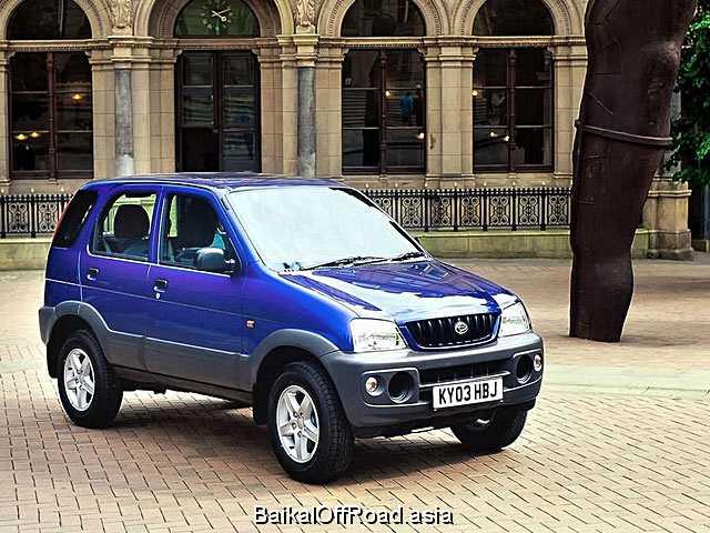 Daihatsu Terios 1.5i 16v 4WD (105Hp) (Механика)