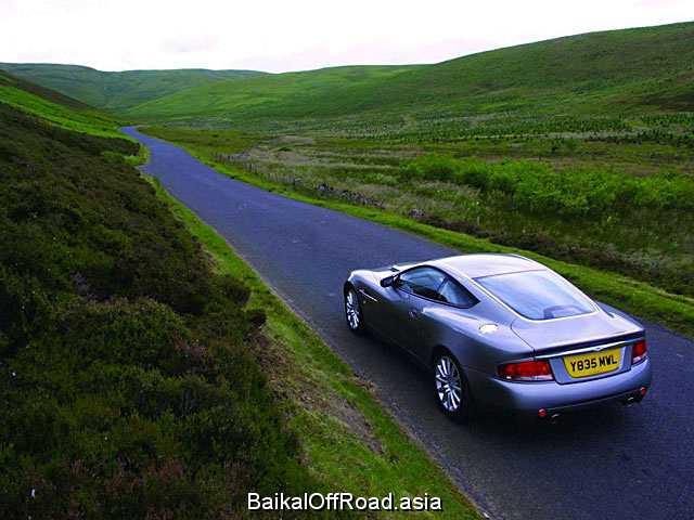 Aston Martin DB9 Voltane 5.9 i V12 48V (450Hp) (Механика)