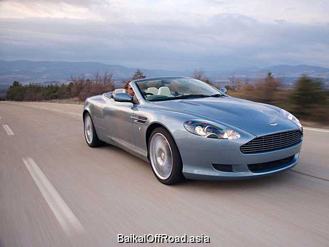 Aston Martin DB9 Coupe 5.9 i V12 48V (450Hp) (Механика)