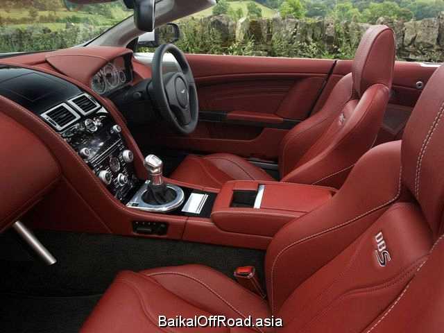 Aston Martin DBS Volante 5.9 (517Hp) (Автомат)