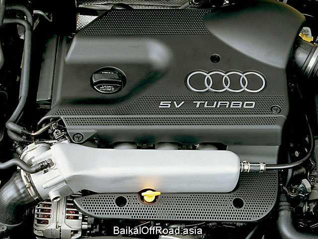 Audi A3 1.8 T quattro (150Hp) (Механика)
