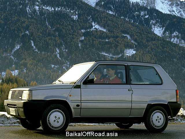 Fiat Panda 1100 Selecta CLX (55Hp) (Механика)