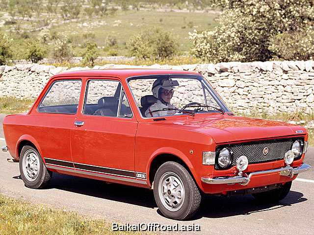 Fiat 128 Coupe 1.1 (65Hp) (Механика)