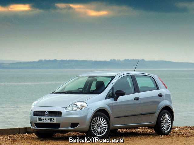 Fiat Punto 1.4 16V (95Hp) (Механика)