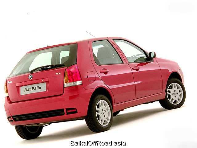 Fiat Palio 1.6 i 16V (103Hp) (Механика)