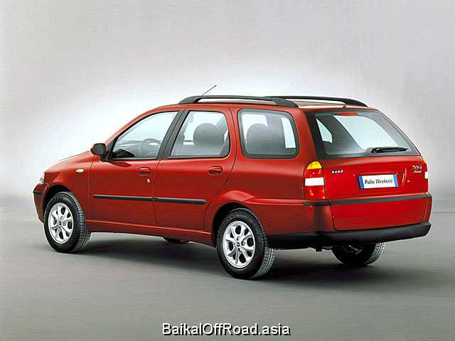 Fiat Palio Weekend 1.6 i ED (87Hp) (Механика)