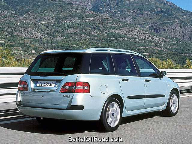 Fiat Stilo Station Wagon 1.6 i 16V (103Hp) (Механика)