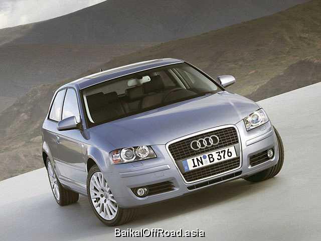 Audi A3 3.2 i V6 24V quattro (250Hp) (Механика)