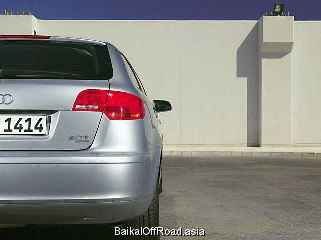 Audi A3 Sportback 2.0 TFSI quattro (200Hp) (Механика)