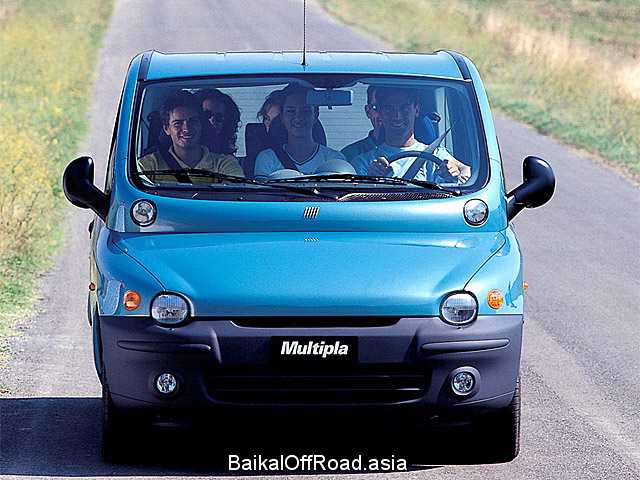 Fiat Multipla 1.9 JTD (110Hp) (Механика)