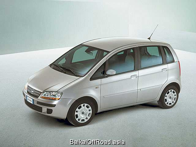 Fiat Idea 1.4 i 8V (77Hp) (Механика)