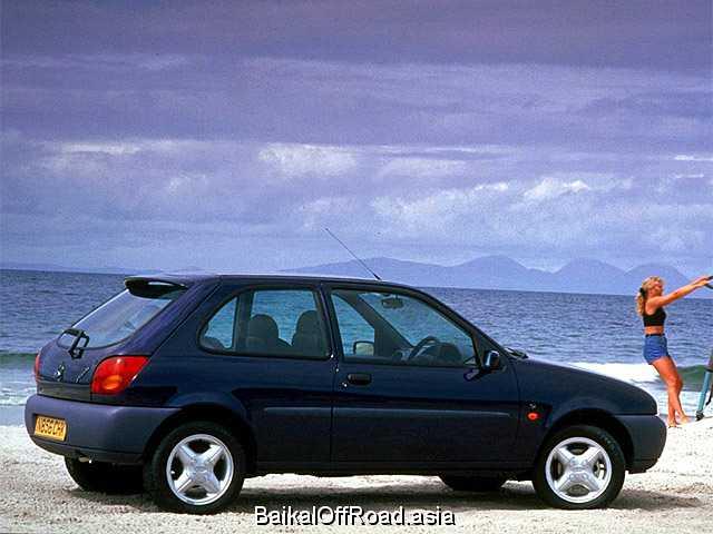 Ford Fiesta 1.2 i 16V (75Hp) (Механика)
