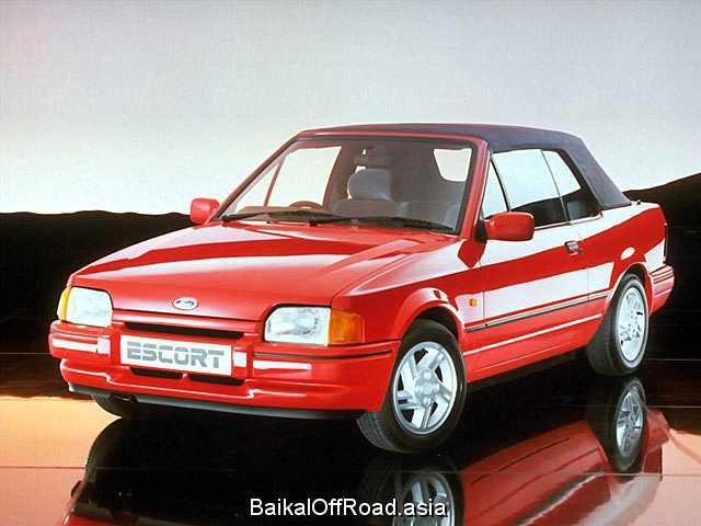 Ford Escort Cabrio 1.4 (75Hp) (Механика)