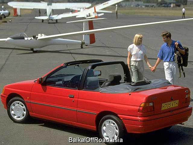 Ford Escort Cabrio 1.8 16V XR3i (130Hp) (Механика)