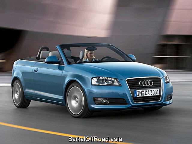 Audi A3 Cabrio 2.0 TFSI (200Hp) (Механика)