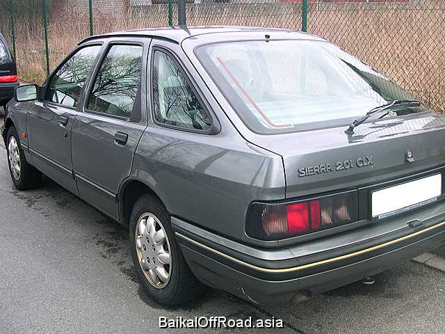 Ford Sierra Hatchback 1.8 (80Hp) (Механика)