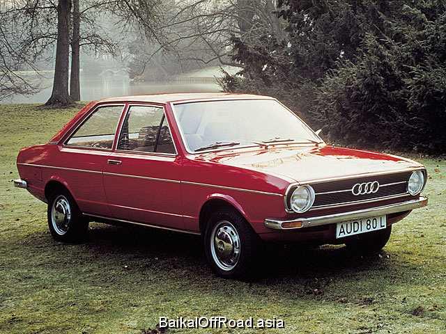 Audi 80 (facelift) 1.3 (55Hp) (Механика)