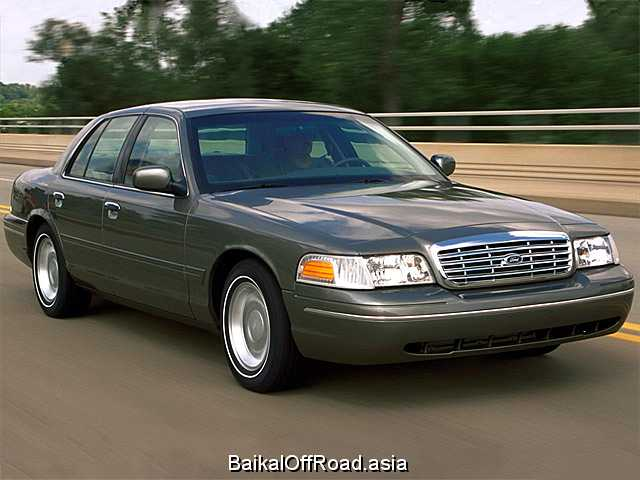 Ford Crown Victoria 4.6 i V8 LX Sport (238Hp) (Автомат)