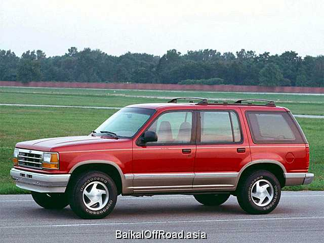 Ford Explorer 4.0 V6 (210Hp) (Механика)