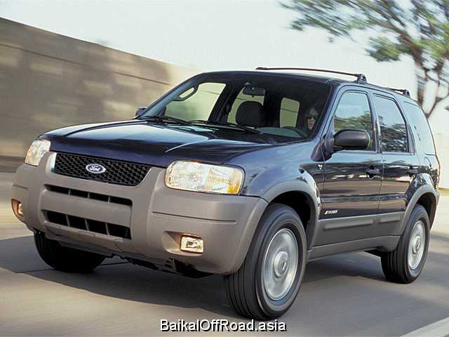 Ford Escape 2.3 i 16V 4WD (155Hp) (Механика)