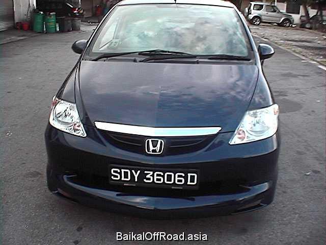 Honda City Sedan 1.5 i 16V (105Hp) (Механика)