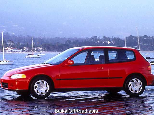 Honda Civic Hatchback 1.6 VTi 16V (160Hp) (Механика)