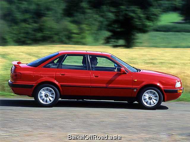 Audi 80 2.0 E 16V quattro (140Hp) (Механика)