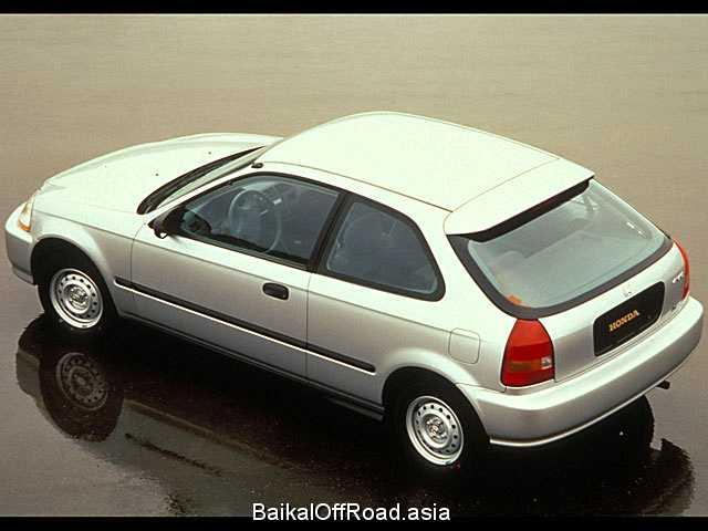 Honda Civic Hatchback 1.6i SR Vtec (126Hp) (Автомат)