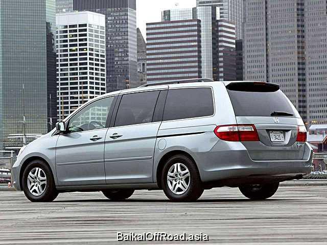 Honda Odyssey 2.4 i 16V 4WD (160Hp) (Механика)